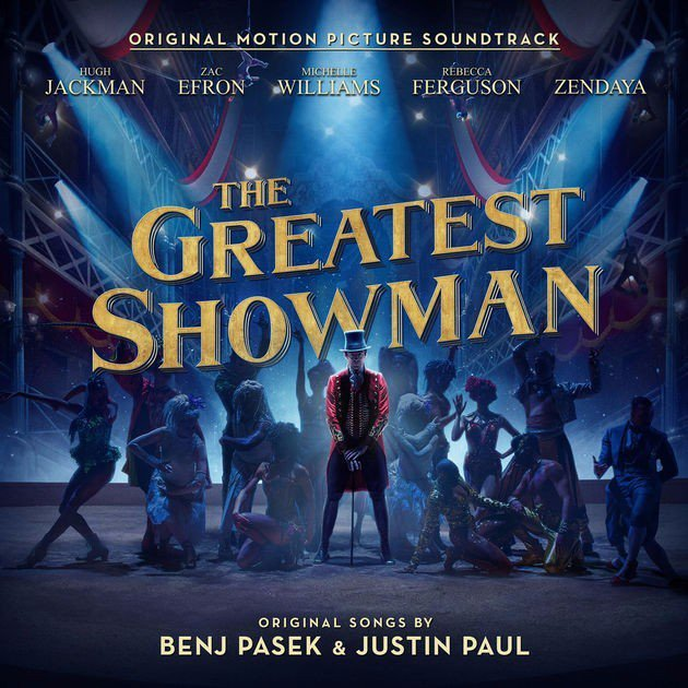 """THE GREATEST SHOWMAN – ORIGINAL MOTION PICTURE SOUNDTRACK"""" EARNS TOP"""